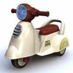Photo of Ride On Car 229 Scoopy in Beige