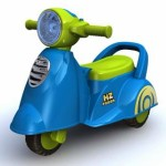 Photo of Ride On Car 229 Scoopy in Blue