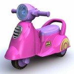 Photo of Ride On Car 229 Scoopy in Pink
